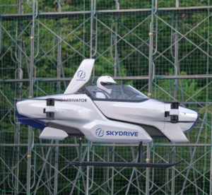 Japanese flying car test