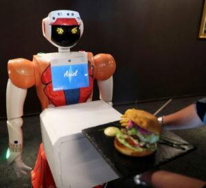 S African Robot in Hotel